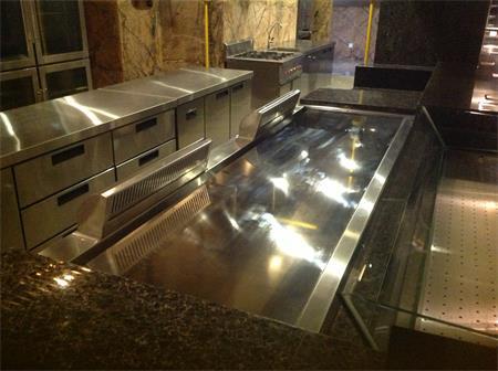 卡威尔铁板烧厨房工程